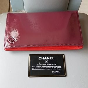 Vintage Authentic Chanel Wallet Checkbook France